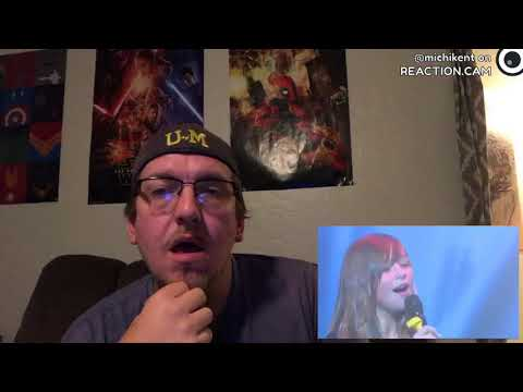 REACTION: Connie Talbot - Rolling In The Deep - Korea April