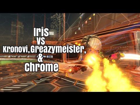 Rocket League Iris vs Kronovi, Greazymeister, and Chrome ShiftProLeague Grand Finals Game 3 ...