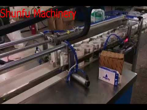 Full automatic toilet paper packing machine
