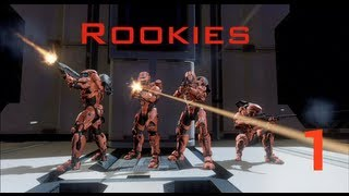 Rookies Season 1 Ep. 1 (Halo 4 Machinima)