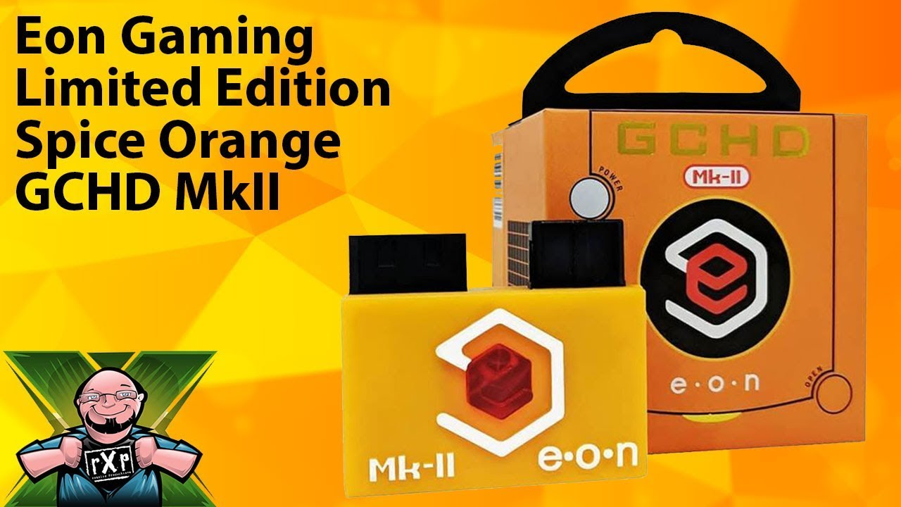 Eon Gaming Announces Limited Edition Spice Orange GCHD MkII HDMI Adapter  for the Nintendo Gamecube