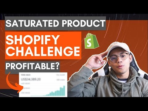 Saturated Product?   Shopify Dropshipping Challenge 2019 (Everything Revealed)