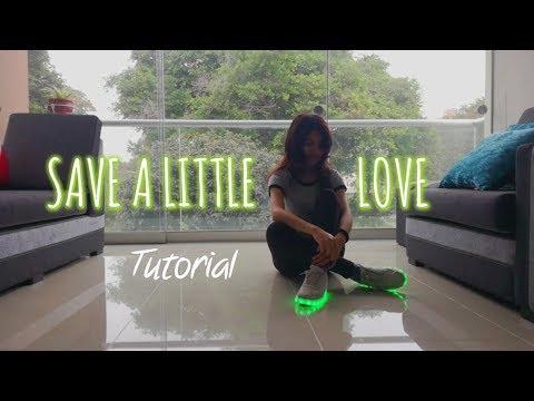 Tutorial coreografía shuffle🌟   Save a little love - Don Diablo   Saori Chan 💙