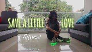 Tutorial coreografía shuffle🌟 | Save a little love - Don Diablo | Saori Chan 💙