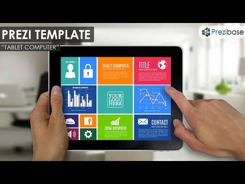 Tablet Computer - Prezi Template