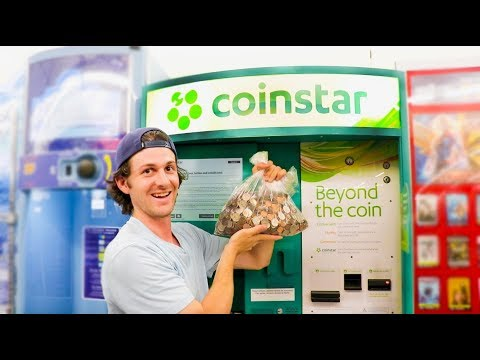 Using The Coinstar Machine! Tips And Tricks!