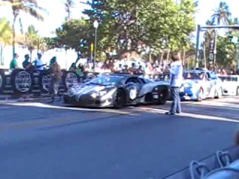 Gumball 3000 –  Matte Grey SSC ULTIMATE AERO TT DRIVE BY! # 0001