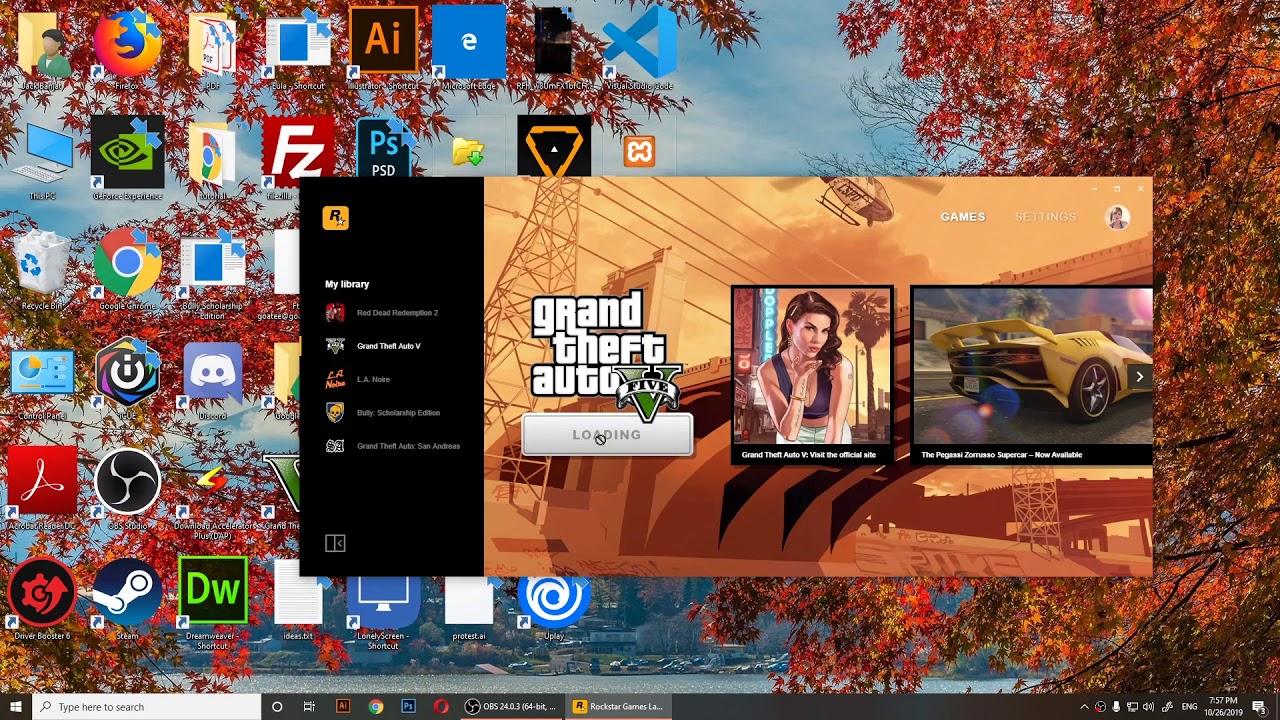 How To Run Gta V On New Rockstar Launcher Gta V Is Already Running Fix Error 21612 Youtube
