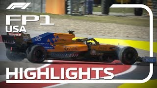 2019 United States Grand Prix: FP1 Highlights