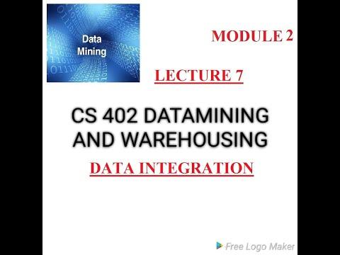 DATAMINING/Module 2/Data Integration