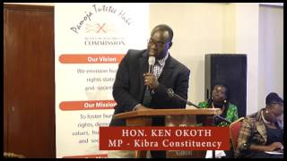 Hon  Ken Okoth, Dr. Willy Mutunga farewell
