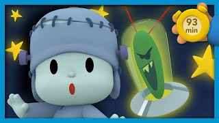 😈POCOYO AND NINA - The visit of the alien [93 min] | ANIMATED CARTOON for Children | FULL episodes