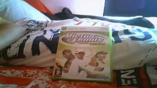 Virtua Tennis 2009 Xbox 360 Box (UK)