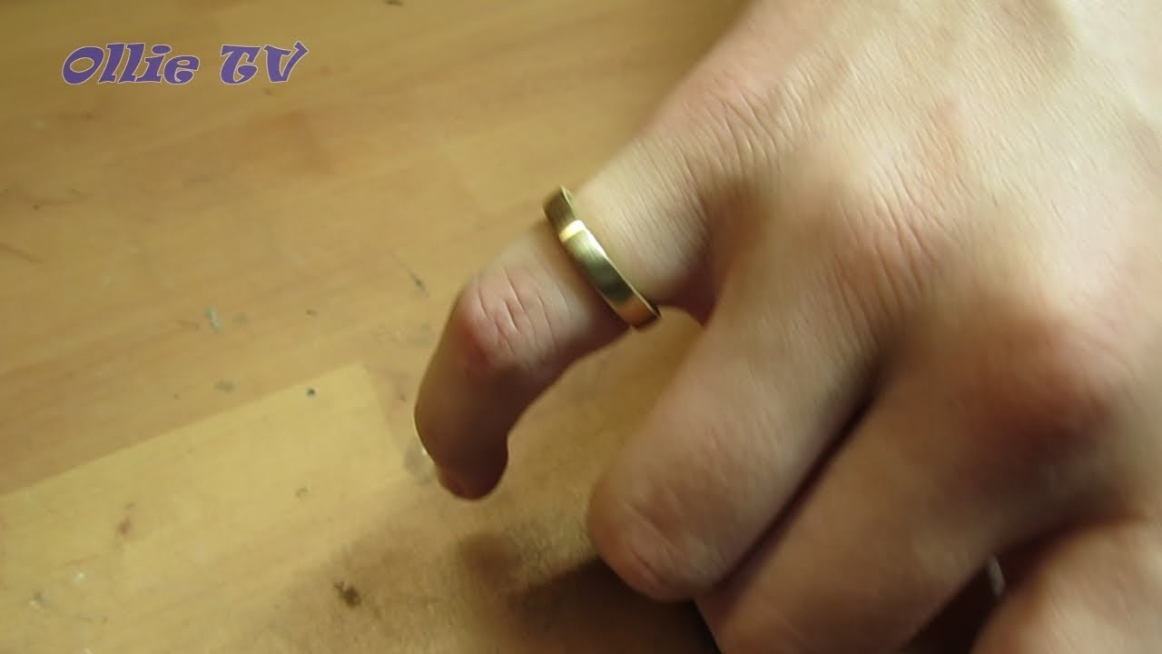 Schmuck Selber Basteln Ring Aus Einer Münze Youtube