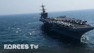 When An Aircraft Carrier Goes To War | Forces TV thumbnail