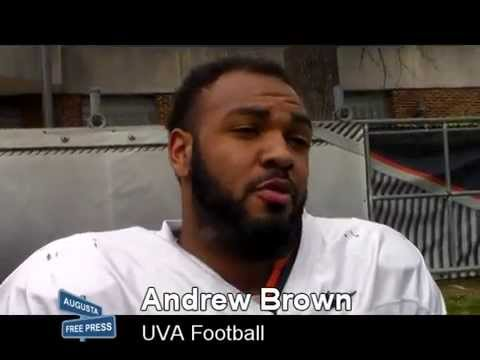 UVA Football Andrew Brown