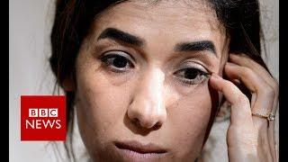 Nobel Peace Prize winner Nadia Murad: 'It's a huge responsibility' - BBC News