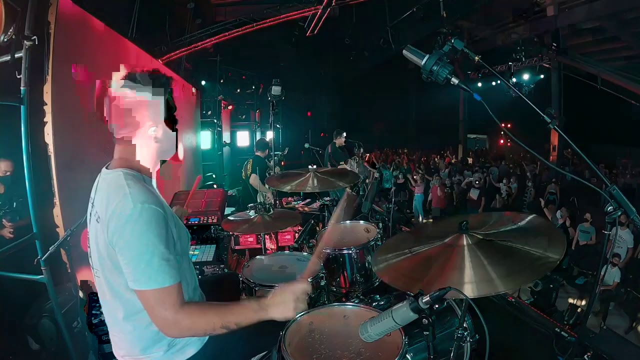 Emaus - Live Drums + Voice FX | Morada feat. Felipe Henri