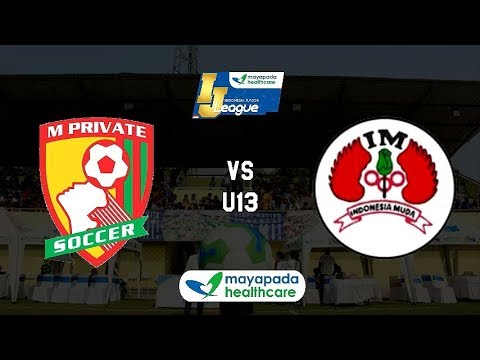 M'Private Soccer vs Indonesia Muda Utara [Indonesia Junior League 2019] [U13] 10-2-2019