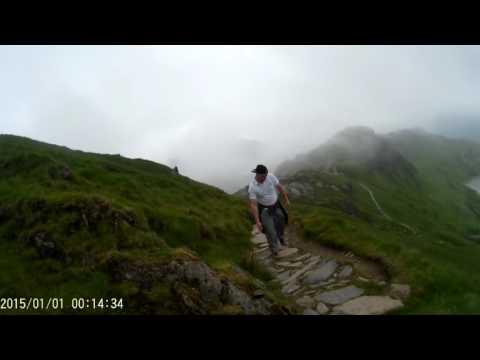 Ascent up Crib Goch (Mt Snowdon Summit)
