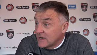 Dave Penney pre-match Spennymoor Town