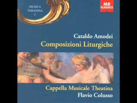 Cataldo Amodei, Confitebor, Pa...