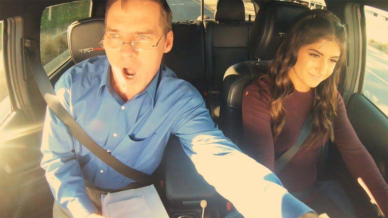 Download Hailie Deegan Shocks DMV Instructor