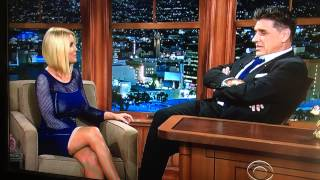 Carrie Keagan's see thru outfit on The Craig Ferguson Show