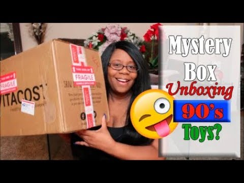 $200 Ebay Mystery Box - Unboxing **90's TOYS?!?**