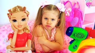 Download Diana and Funny Stories With Toys - Compilation video
