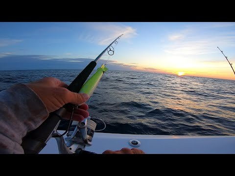 Overnight Fishing Trip 100 Miles Offshore