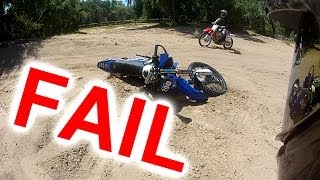 Street To Sand (FAILS) - With Mototrippin