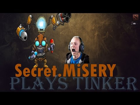 Dota 2 Pro Gameplay Secret MiSERY plays Tinker