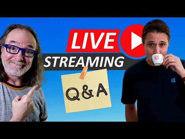 Live Streaming Q&A with Ecamm Live's Glen Aspeslagh!