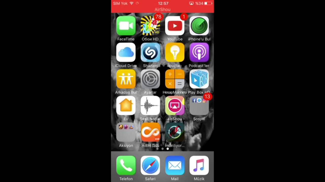 iphone 6s Plus iletim raporu jailbreaksiz