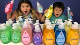 Don't Choose the Wrong Baby Shampoo Slime Challenge