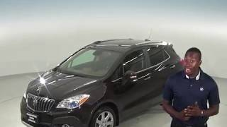 A96421ET - Used, 2016, Buick Encore, Leather, SUV, Brown, Test Drive, Review, For Sale -