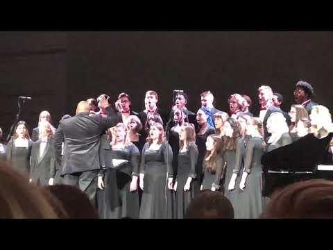 Herron High School Advanced Choir sings Gratius Agimus Tibi from Gloria