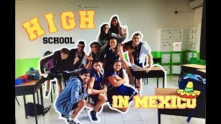 HOW HIGH SCHOOL IS IN MEXICO: junior year