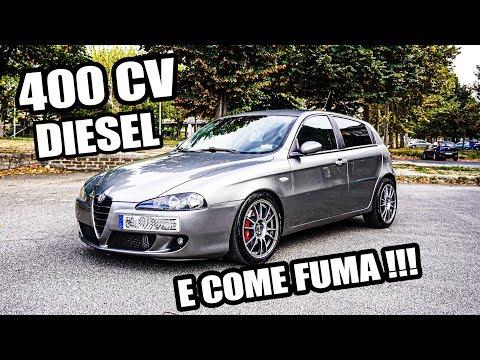 ALFA ROMEO 147 DA OLTRE 400 CAVALLI DIESEL !!!! FUMA QUANTO CAMMINA !!!!