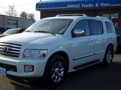 Family Trucks and Vans 2006 Infinity QX56 Stock B20881 - YouTube