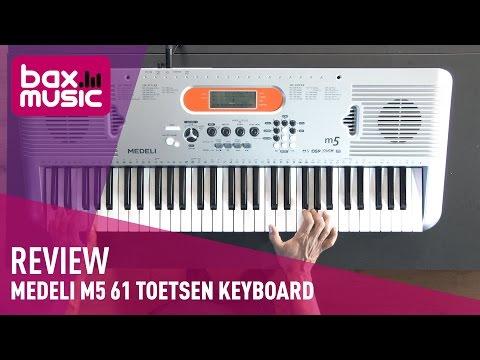 Medeli M5 61 toetsen keyboard - Review