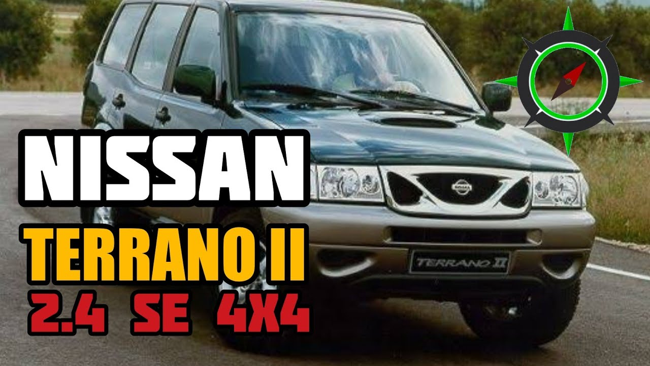 Nissan Terrano Ii 2 4 Walking Around