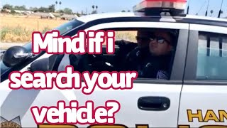 🔴🔵Asking a cop if I can search his vehicle 😆