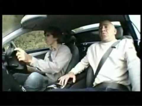 TEST DRIVE Damon Hill makes journalist sick on test drive