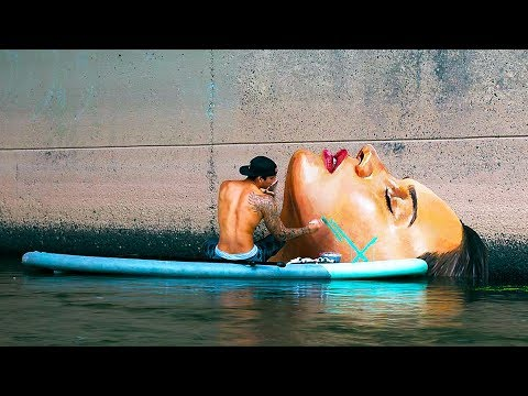 THIS STREET ART IS ABSOLUTELY BREATH-TAKING
