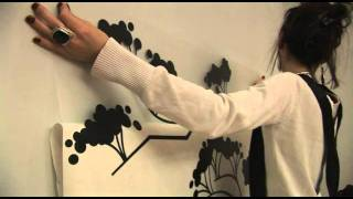 Easy Way To Install Wall Decals   How To