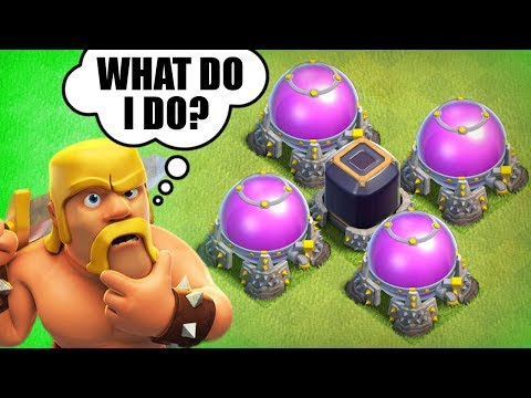 WHAT HAPPENS WHEN YOU HAVE NOTHING TO SPEND LOOT ON IN CLASH OF CLANS!?