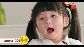 Diputer 100x - Lucunya Anak Kecil Iklan Shopee (Moonella)
