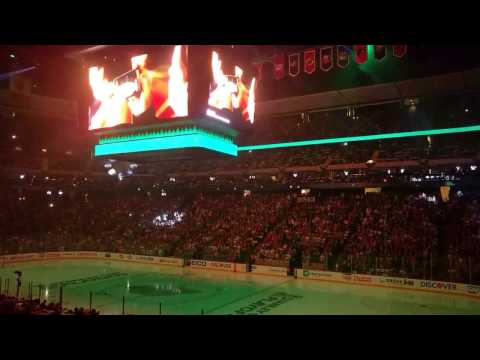2017 NHL Playoffs - Xcel Energy Center - Game 1 Intro